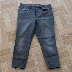 Grey Rock Star Old Navy Jeans